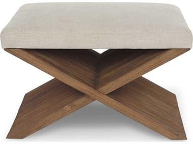 Brownstone Furniture Felix Crypton Beach / Praline Accent Stool BRNFX012