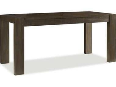 Brownstone Furniture Messina 66''L x 30''W Rectangular Smokey Brown Computer Desk BRNME600