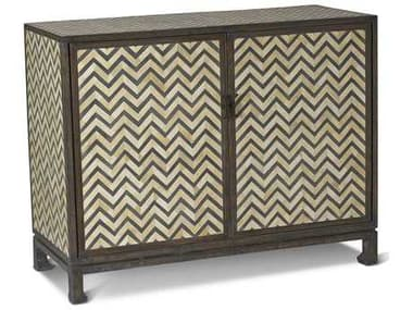 Brownstone Furniture Tangier Natural & Charcoal Gray Bone Accent Chest BRNTA004A