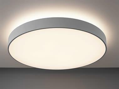 Bruck Lighting Bado Matte Chrome One-Light LED Flushmount BK22003