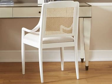 Bungalow 5 Veronika White Dining Arm Chair BUNVER55509
