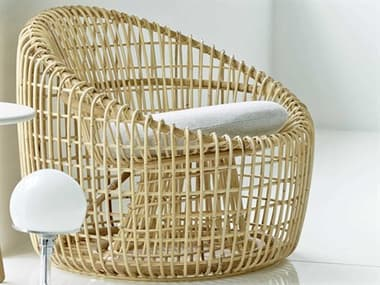 Cane Line Indoor Nest Natural Accent Chair CNI7422RU