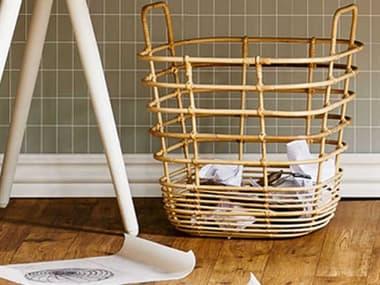 Cane Line Indoor Sweep Natural Storage Bin CNI7120RU