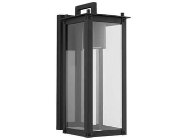 Capital Lighting Hunt Black Glass LED Outdoor Wall Light C2934611BKGL