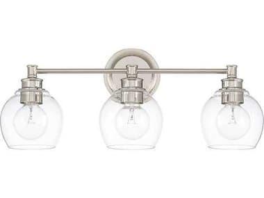 Capital Lighting Mid Century Polished Nickel Three-Light Vanity Light C2121131PN426
