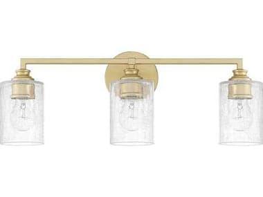 Capital Lighting Milan Capital Gold Three-Light Vanity Light C2120531CG422