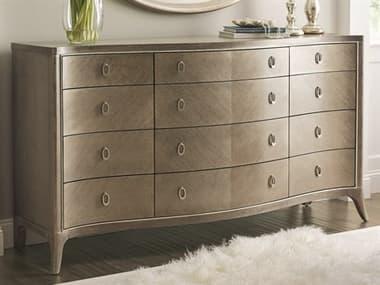 Caracole Compositions Avondale Ash / Soft Silver Twelve-Drawer Triple Dresser CASC023417011