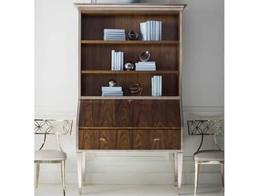 Caracole Classic Rich Walnut / Charcoal Leaf Secretary Desk CACCLA419532