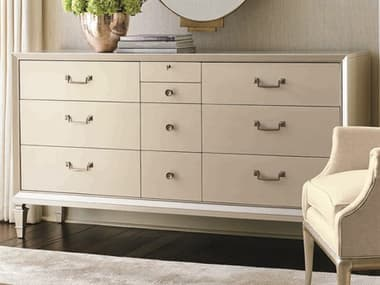 Caracole Classic Pearl Ten-Drawers Triple Dresser CACCLA015031