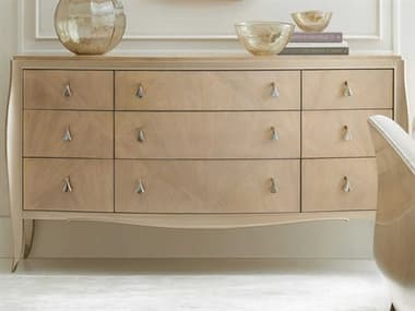 Caracole Classic Winter Wheat / Warm Reflections Nine-Drawers Triple Dresser CACCLA018031