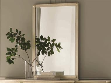 Caracole Classic Auric Silver Leaf 31''W x 49''H Rectangular Wall Mirror CACCLA016041