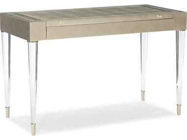 Caracole Classic Soft Silver Leaf Vanity CACCLA419451