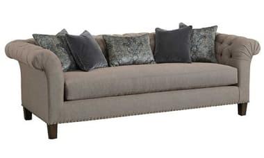 Carson Legacy Sofa with Lyric Leg CARCLE43WOOD