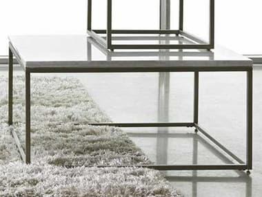 Palliser Case Goods Julien White Marble & Natural Steel 36L x 36 Wide Square Coffee Table CX836065MBW065