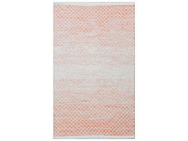 Chandra Tanya Orange / White Rectangular Area Rug CDTAN45939