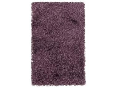 Chandra Tyra Purple / Black / Pink Rectangular Area Rug CDTYR43603