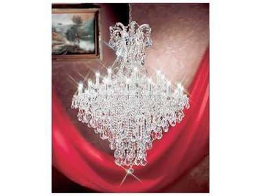 Classic Lighting Corporation Maria Theresa 25-Light 40'' Wide Grand Chandelier C88179CHC