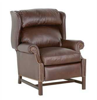 Classic Leather Chippendale High Leg Recliner CL759HLR