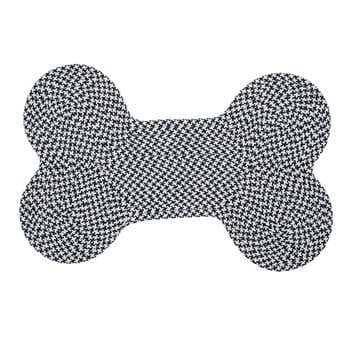 Colonial Mills Dog Bone Houndstooth Navy Area Rug CIOT59RG
