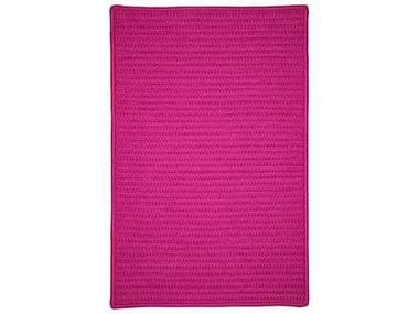 Colonial Mills Simply Home Solid Magenta Rectangular / Square Area Rug CIH930RGREC