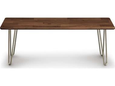 Copeland Furniture Essentials Accent Bench with Metal Legs CF8ESS481518