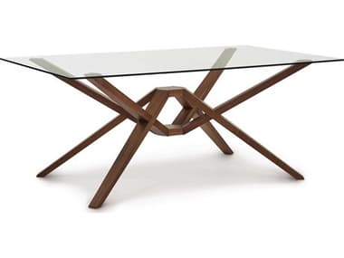 Copeland Furniture Exeter 72''W x 42''D Rectangular Dining Table CF6EXE30
