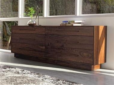 Copeland Furniture Moduluxe Six-Drawers Double Dresser CF2MOD60