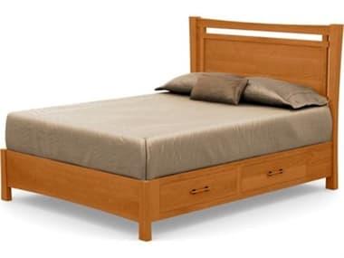 Copeland Furniture Monterey Platform Bed with Storage CF1MON13STOR