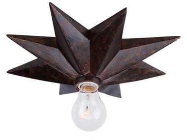 Crystorama Astro English Bronze Flush Mount Light CRY9230EB