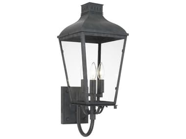 Crystorama Dumont Graphite Outdoor Wall Light CRYDUM9802GE