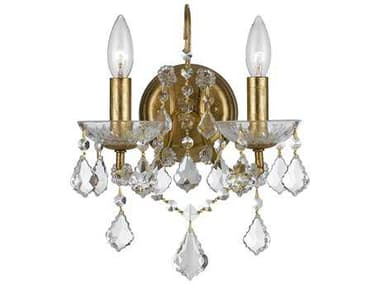 Crystorama Filmore Two-Light Wall Sconce CRY4452