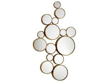 Cyan Design Bubbles 24 x 41 Gold Wall Mirror C305825