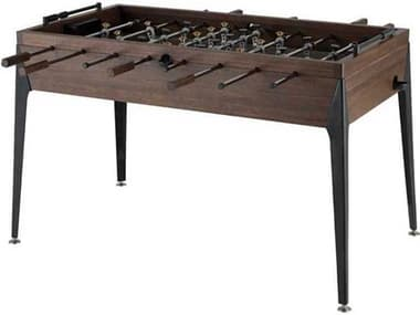 District Eight Smoked / Black Foosball Table D8HGDA713