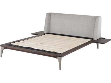 District Eight Shroom / Seared Queen Platform Bed D8HGDA667