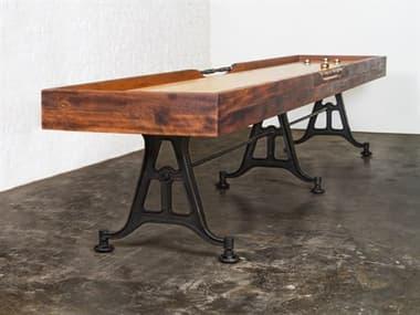 District Eight Burnt Umber / Black Shuffleboard Table D8HGDA448