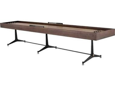 District Eight Smoked / Black Shuffleboard Table D8HGDA717