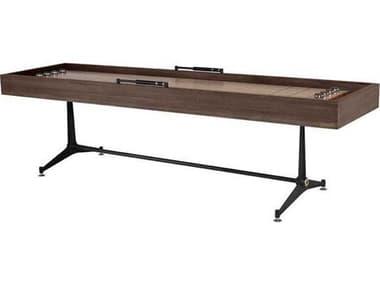 District Eight Smoked / Black Shuffleboard Table D8HGDA779