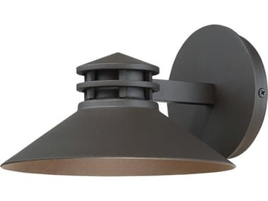 dweLED by WAC Lighting Sodor Bronze 1-light 8'' Wide LED Outdoor Wall Light DWLWSW15708BZ