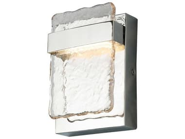 Eglo Madrona Stainless Steel 1-light Glass LED Outdoor Wall Light EGL204481A
