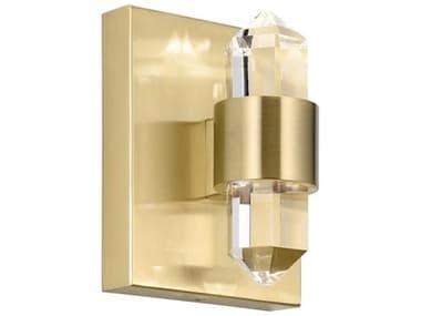 Elan Arabella Champagne Gold 2-light Crystal LED Vanity Light ELA84070CG