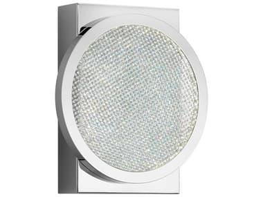 Elan Delaine Chrome 1-light Crystal LED Vanity Light ELA85061CH