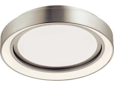 Elan Fornello Brushed Nickel 14'' Wide LED Flush Mount Light ELA84156