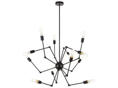 Elegant Lighting Amira 12-light 44'' Wide Chandelier EGLD2422