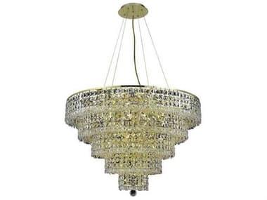 Elegant Lighting Maxime 13-Light 20'' Wide Mini Chandelier EG2039D20