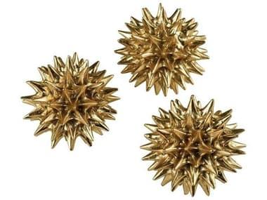 Elk Home Gold Leaf Decorative Accent (Set of 3) EK32121017S3