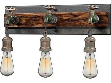 Elk Lighting Jonas Multi-Tone Weathered Three-Light Wall Sconce EK142823
