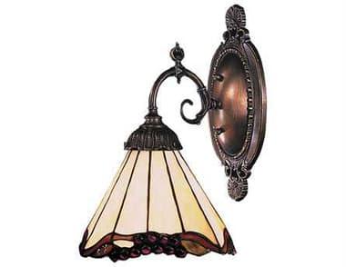 Elk Lighting Mix-N-Match Tiffany Bronze Wall Sconce EK071TB03