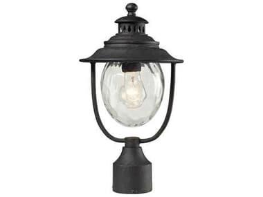 Elk Lighting Searsport Weathered Charcoal Outdoor Post Light EK450421