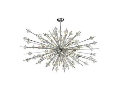 Elk Lighting Starburst Polished Chrome Thirty-One Light 72'' Wide Chandelier EK1175431