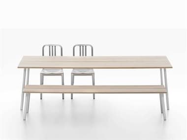 Emeco Run By Sam Hecht And Kim Colin Modern Casual Dining Room Set EMERT96SASHSET4